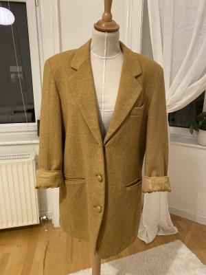 Blazer in lana color cammello
