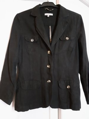 Vittoria Verani Blazer in jersey nero