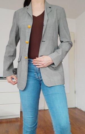 Blazer unisex color oro-gris claro