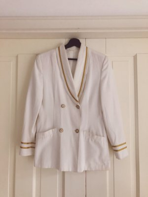 Tuxedo Blazer white-gold-colored