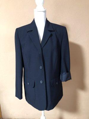 Vintage Blazer Jacke Jacket Weste Dunkelblau