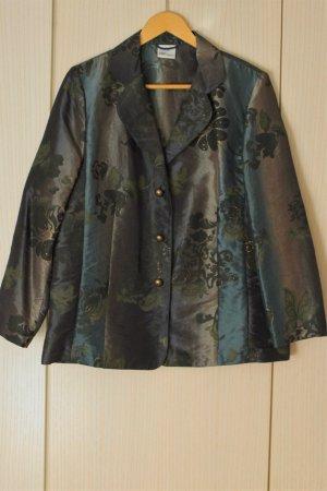 Vintage-Blazer mit Glanz-Effekt
