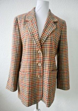 Vintage Blazer Sakko Kariert Trend
