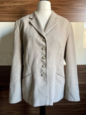 Vintage-Blazer von Gerry Weber in Creme-Hellbraun