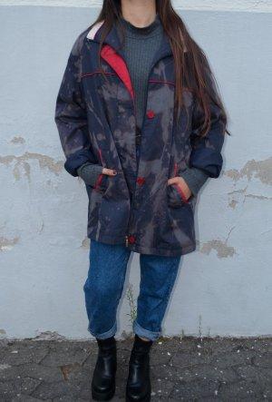 Vintage Bleached Übergangs Jacke Oversized