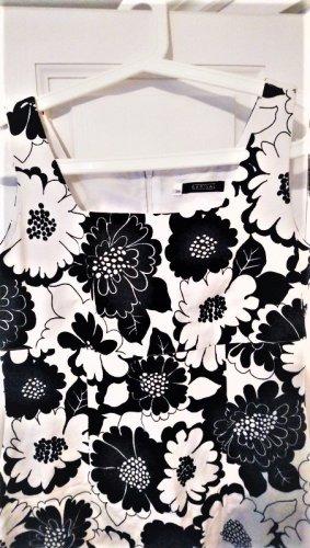 Barisal Robe fourreau blanc-noir
