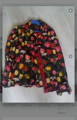 Vintage Bluse bunt 36/38