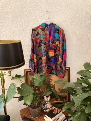 Vintage Bluse bunt