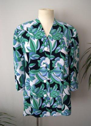 Vintage Bluse bunt-floral, geblümte Bluse verspielt, blogger alternative