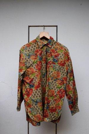 Camicia a maniche lunghe multicolore