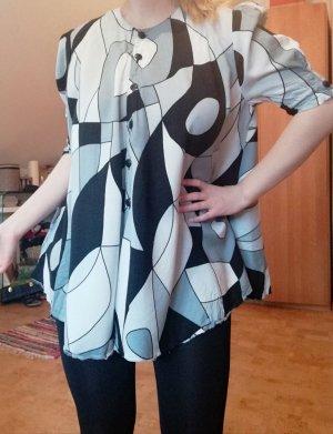 Vintage Bluse gemustert