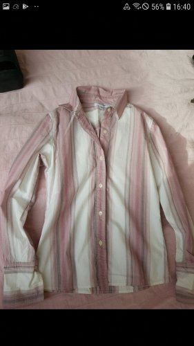 Vintage bluse/hemd/shirt Streifel rosa original calvin klein vintage