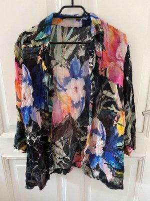 Vintage Bluse mit Blumen S-M