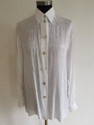 Vintage Bluse mit floralem Muster