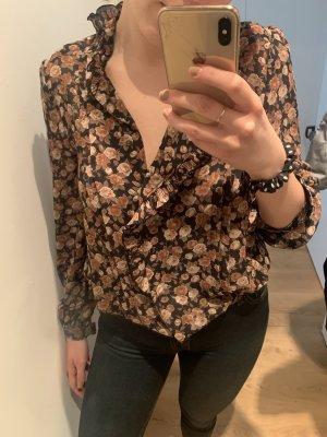 Vintage Bluse mit Rüschen