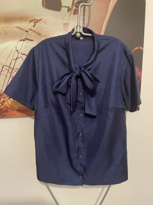 Vintage Bluse mit Schleife Rockabilly Retro
