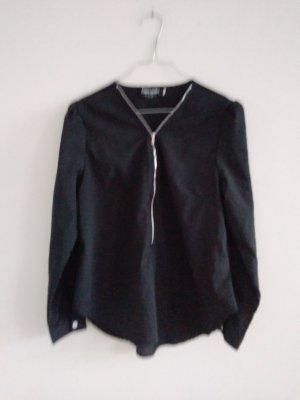 Vintage Bluse mit Zipper