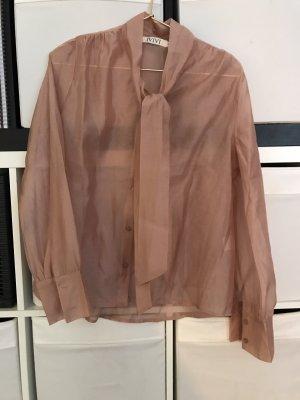 Vintage Bluse Schluppen Schleife