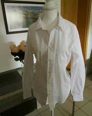 Vintage Bluse Stickerei bubikragen Peter pan kragen verzierung