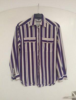 Vintage Bluse Streifen Paris