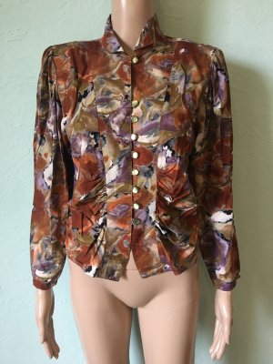 Vintage Bluse Viskose West Germany Floral