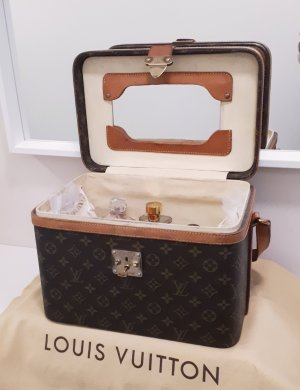 Vintage Boîte beauty (Train Case) Trunk / Koffer von LOUIS VUITTON