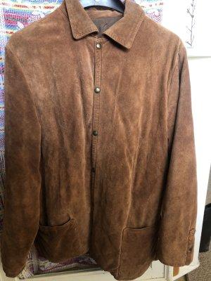 Kurtka oversize jasnobrązowy-brązowy