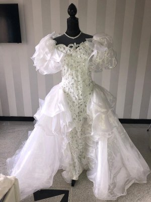 Vintage Brautkleid 80er Jahre