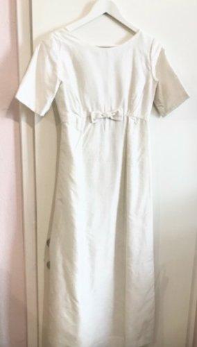 Vintage Brautkleid aus Wildseide