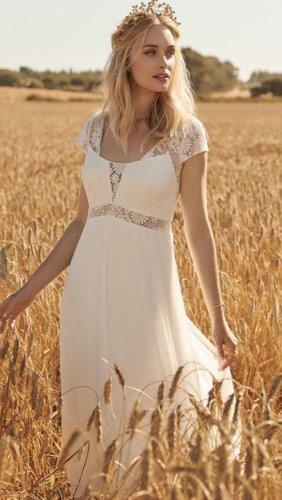 R+ Wedding Dress white