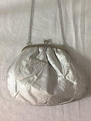 """Vintage Brauttasche silber """"something old..."""" Minibag"""