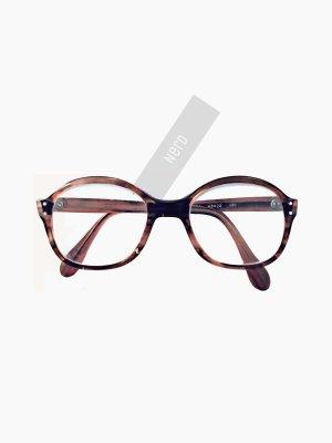 Vintage Brille mit Stärke in Honig braun Hornbrille transparent vom Oma true | Nerd | unisex