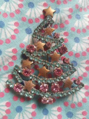 True Vintage Broche multicolore