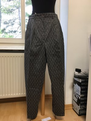 Clockhouse Pleated Trousers grey-white acetate