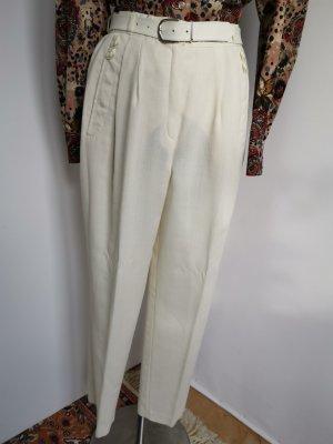 vintage Bundfaltenhose / high waist