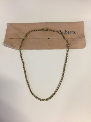 Burberry Cadena de eslabón color oro metal