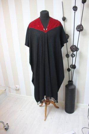 Mantella nero-rosso