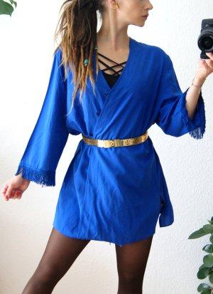Vintage Kimono Blouse blue