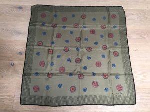 Dior Pañuelo de seda multicolor Seda