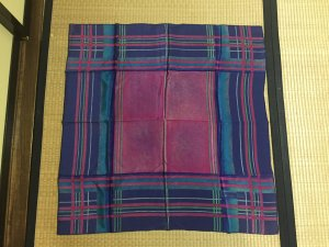 Dior Pañuelo multicolor Seda