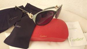Cartier Bril zwart-lichtblauw
