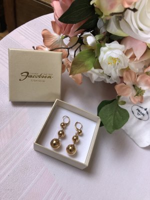 Celine Statement Earrings gold-colored