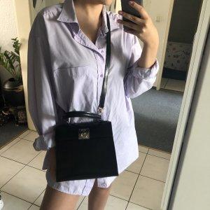 Celine Crossbody bag black-gold-colored