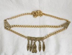 Vintage Cintura con catena oro