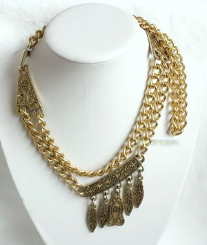 True Vintage Chain Belt gold-colored