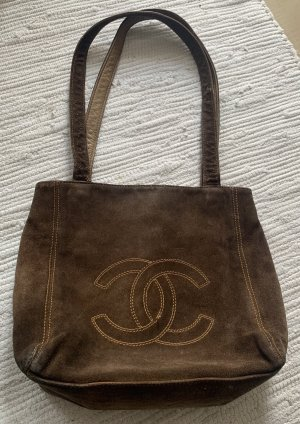Chanel Handbag dark brown-brown