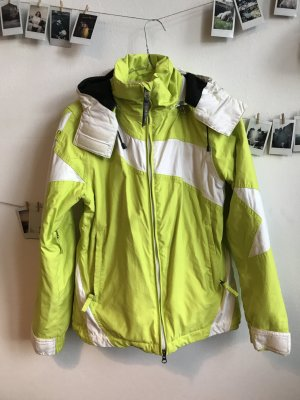 Chiemsee Outdoor Jacket yellow-neon yellow nylon