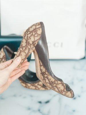 Dior Peep Toe Pumps room-bruin