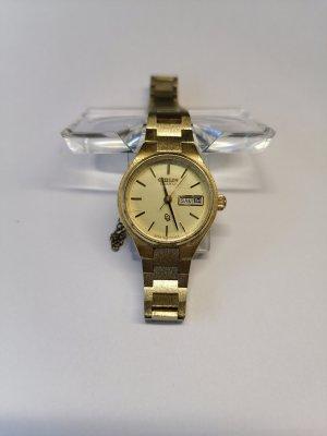 Citizen Zegarek z metalowym paskiem złoto