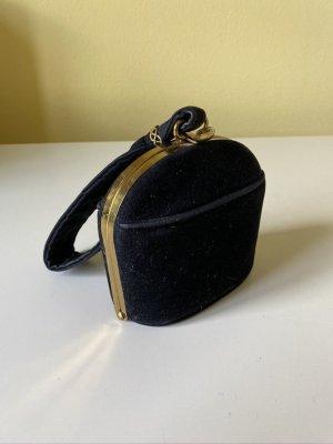 Vintage Clutch mit Schlaufe royalblau